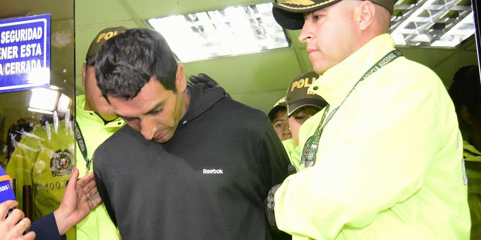 Capturado por atentado en Bogotá