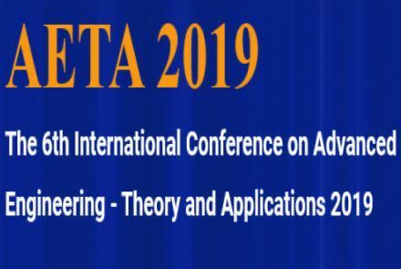 AETA 2019 La 6ta Conferencia Internacional de Ingeniería Avanzada – Teoría y Aplicaciones 2019