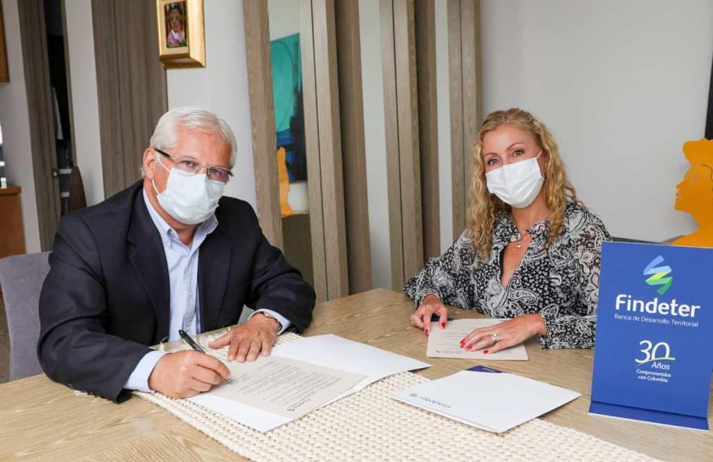Findeter y Popayán firman convenio para contratar los estudios y diseños del Malecón Río Molino, el proyecto de renovación urbana más importante para la ciudad en los últimos 10 años